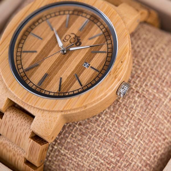 Bambus Klokke Håndlaget